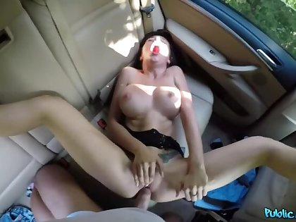 Tourist Gets Multiple Orgasms about Car