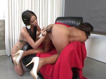 Horny pornstars Persia Monir and Bonnie Skye in crazy college, mature xxx movie