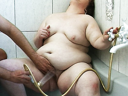 fat stepsister has all holes open