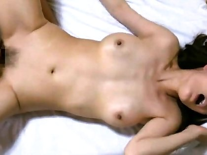 Cute asian coed mouth fucking muted gumshoe in button up up