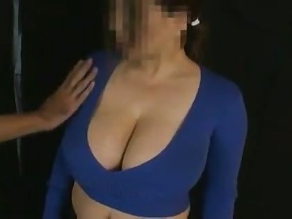 My wife loves milking her huge breasts and her knockers are so soft and delicious