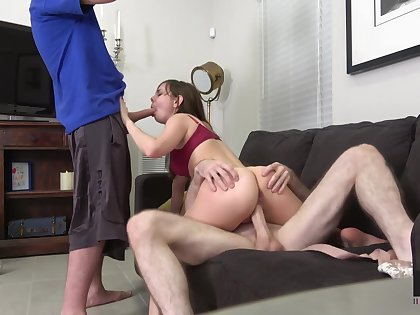 Oddball chick with petite body Shae Celestine gets fucked hard