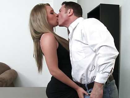 Sexy worker Harley Jade will do anything be required of raise